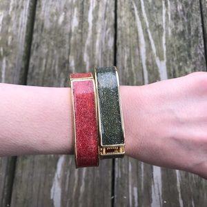 2 bangle bracelets